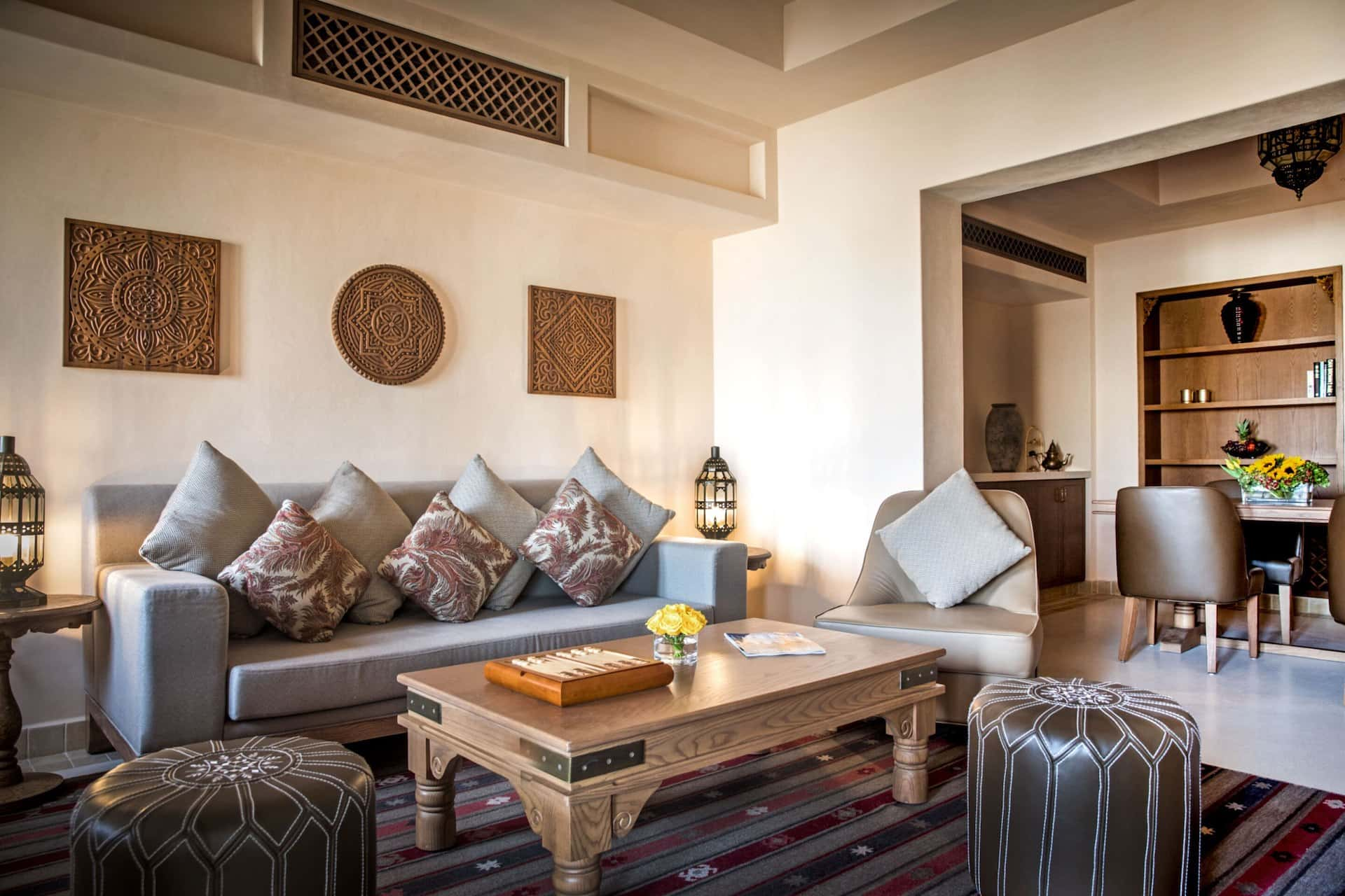 Al Wathba, a Luxury Collection Desert, Abu Dhabi Living Room Suite, фото