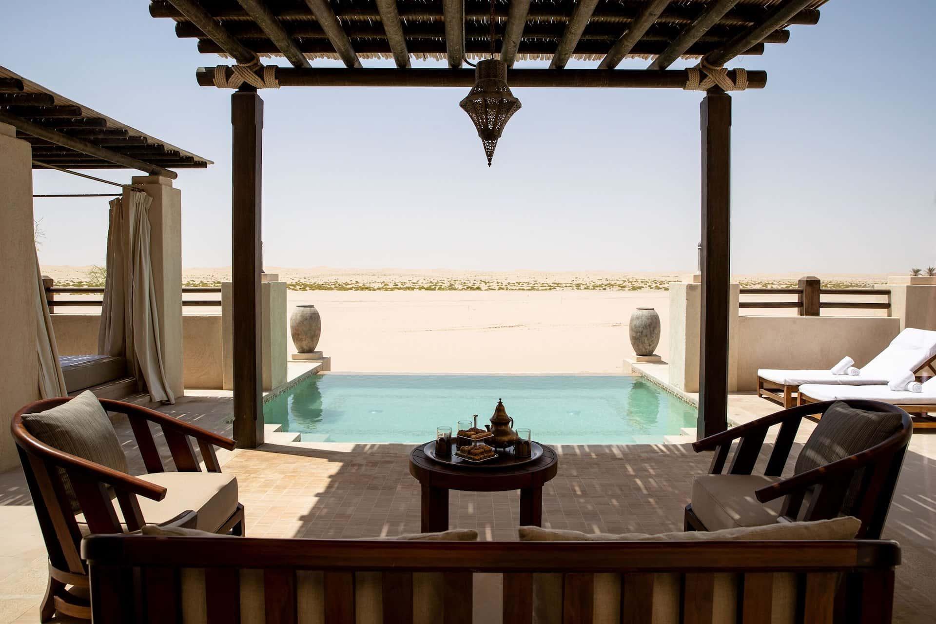 Al Wathba, a Luxury Collection Desert, Abu Dhabi Villa Pool, фото