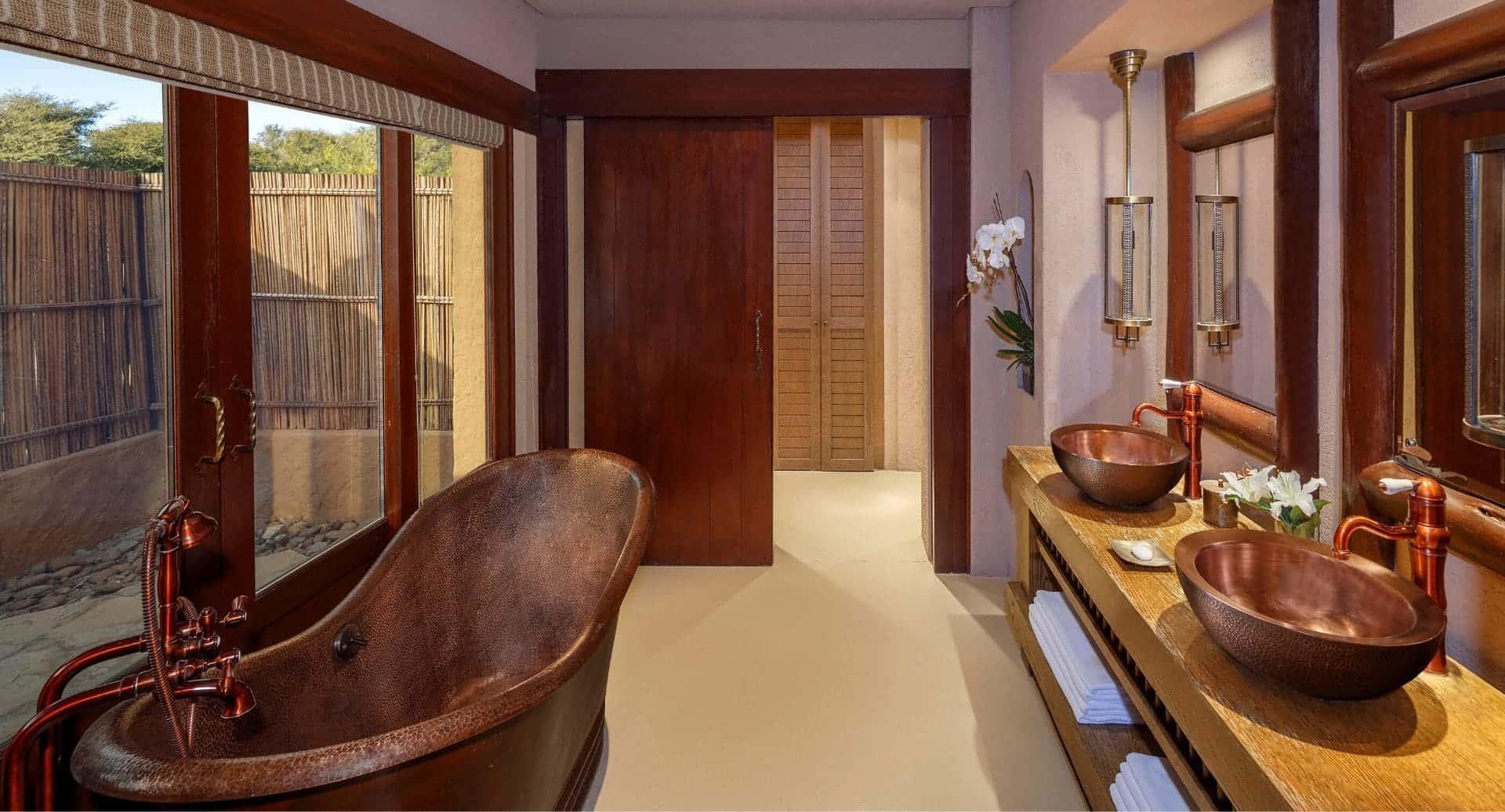 Anantara Sir Bani Yas Al Sahel Villa Bathroom Абу-Даби, фото