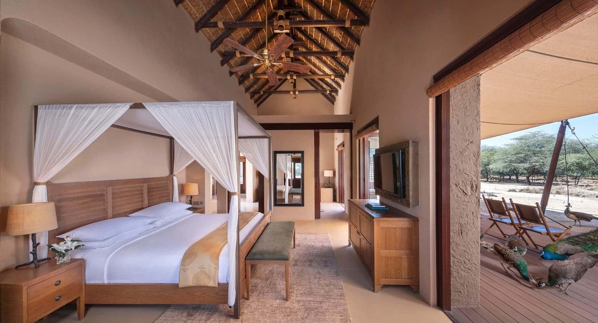 Anantara Sir Bani Yas Al Sahel Villa Bedroom Абу-Даби, фото