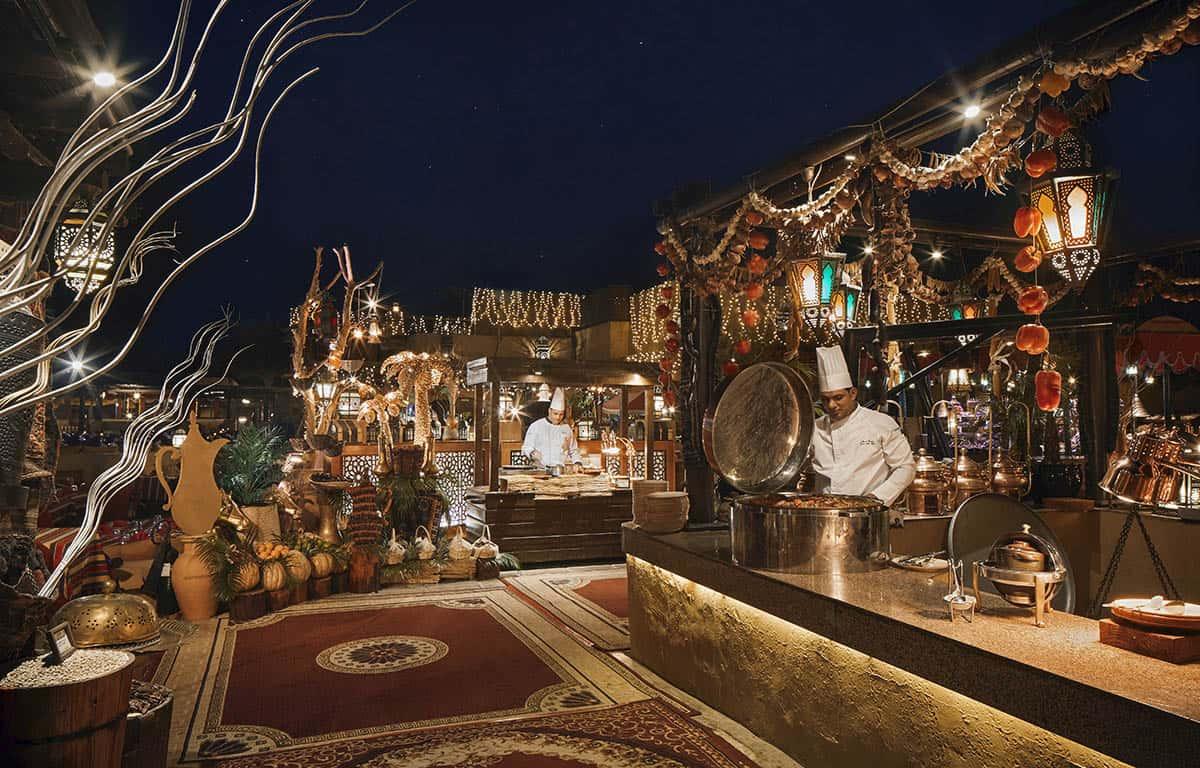 Bab Al Shams Al Hadheerah Restaurant Dubai, фото