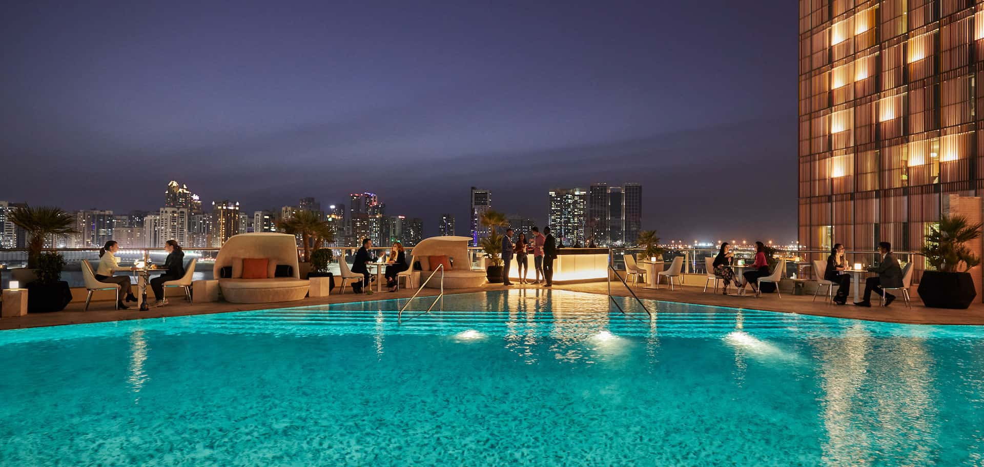 Four Seasons Hotel Abu Dhabi at Al Maryah Island Eclipse Lounge, фото