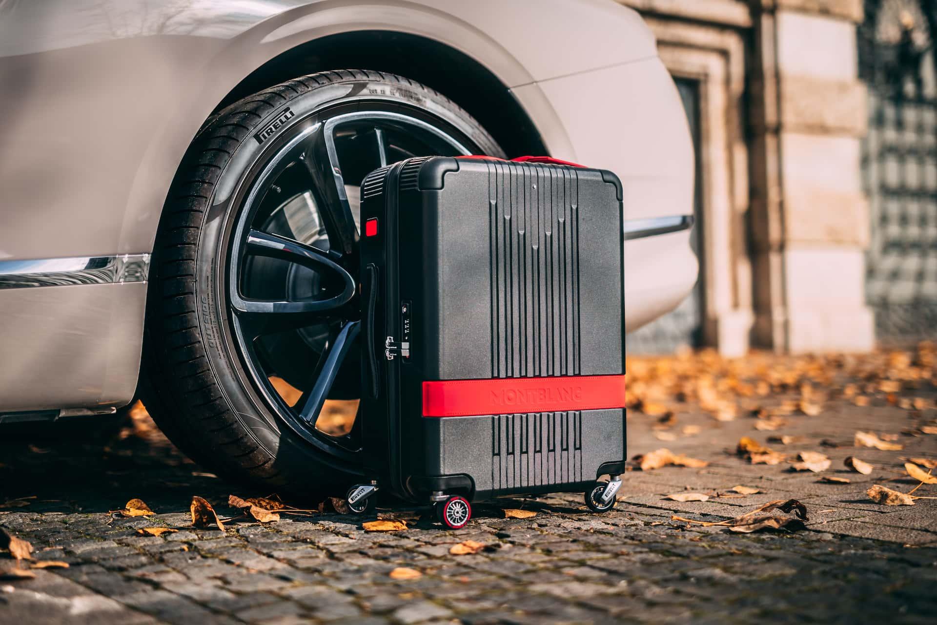 Montblanc x Pirelli чемодан, фото