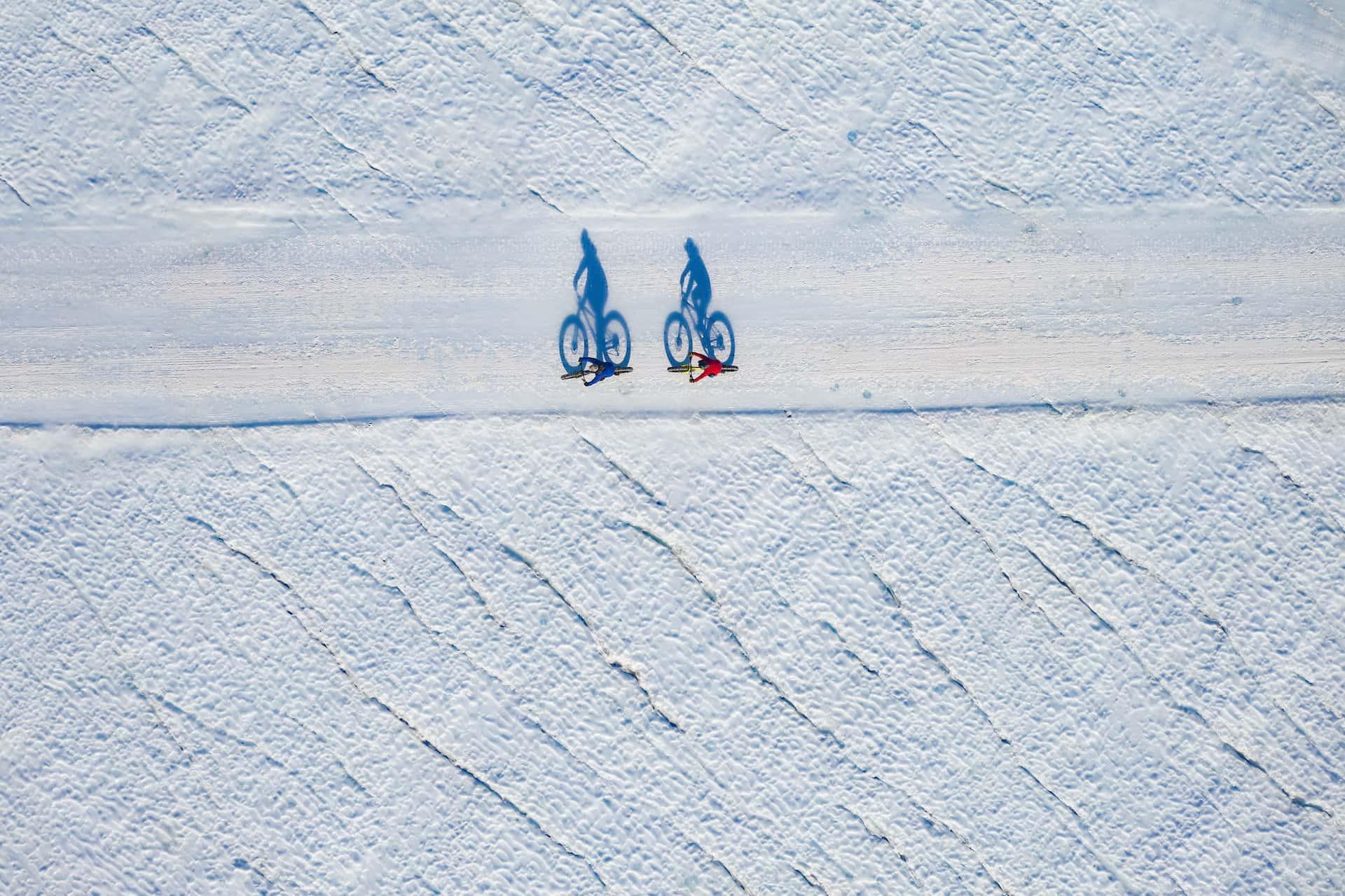 White Desert Fatbiking Antarctica, фото