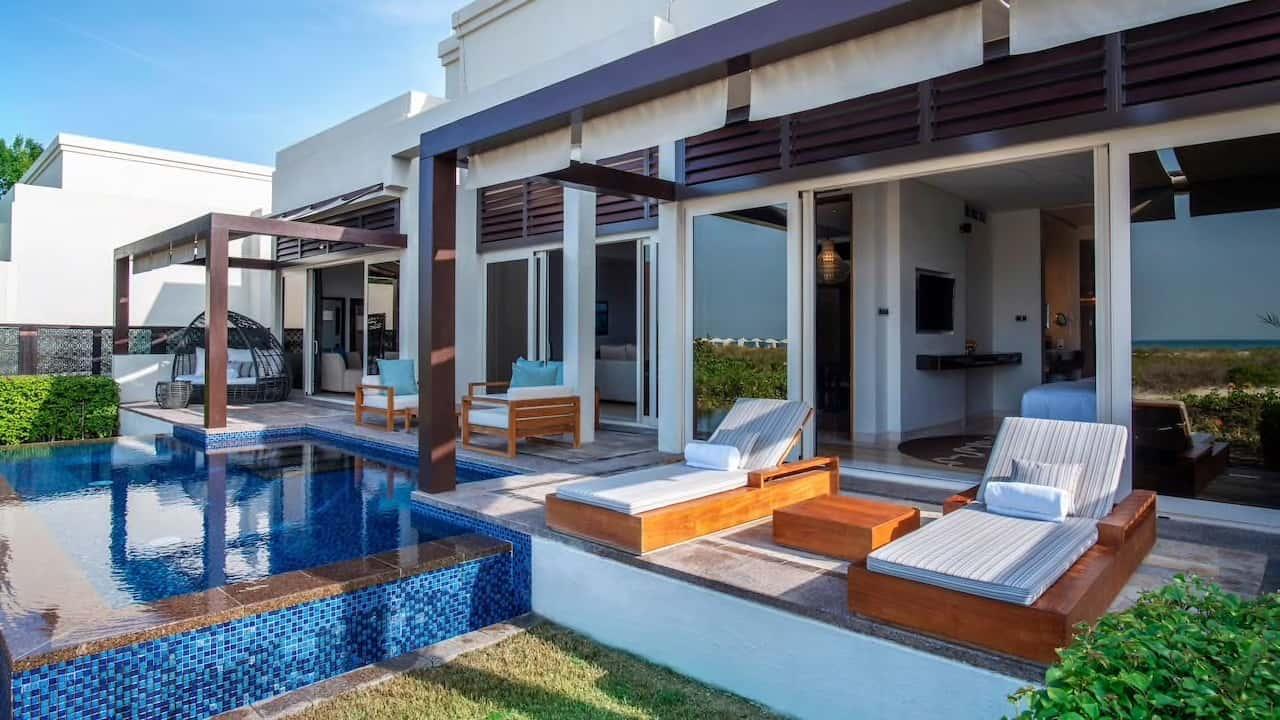 Park Hyatt Abu Dhabi Hotel and Villas Executive Villa Pool, фото
