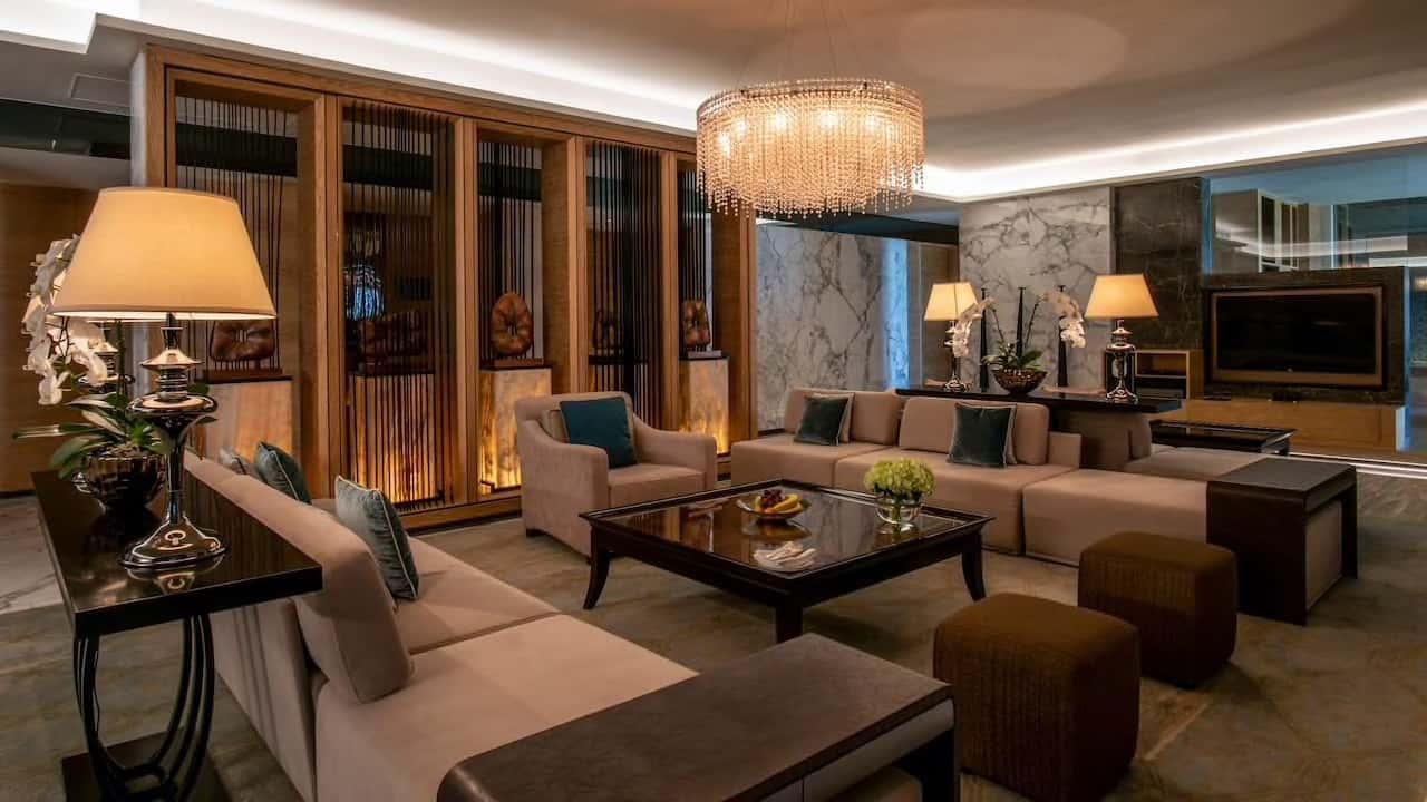 Park Hyatt Abu Dhabi Hotel and Villas Presidential Suite Living Room, фото