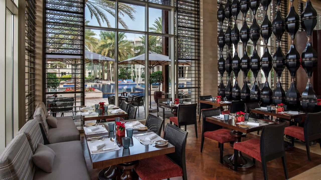 Park Hyatt Abu Dhabi Hotel and Villas The Cafe, фото