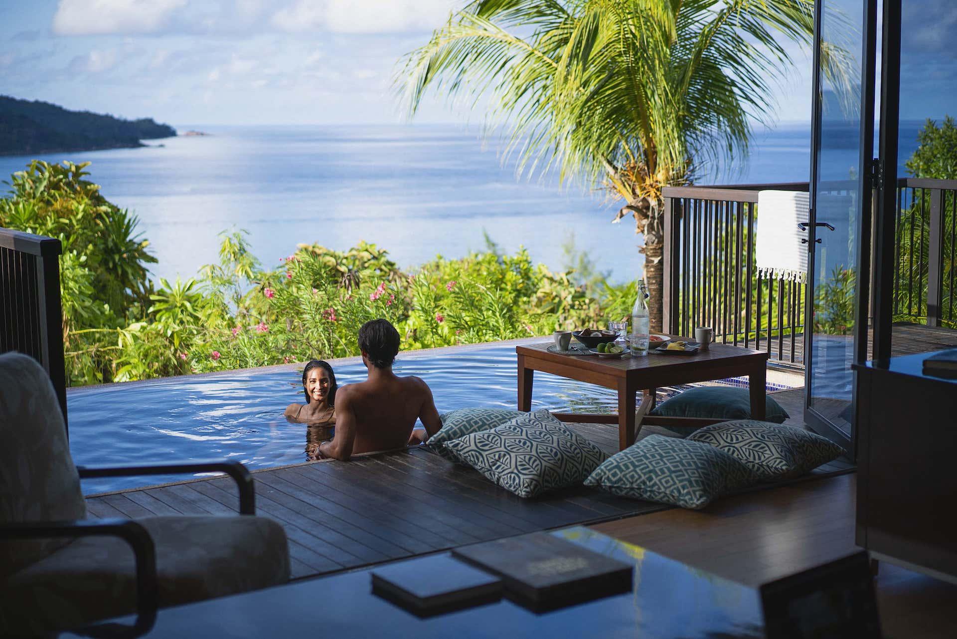 Pool Villa Couple Raffles Seychelles, фото