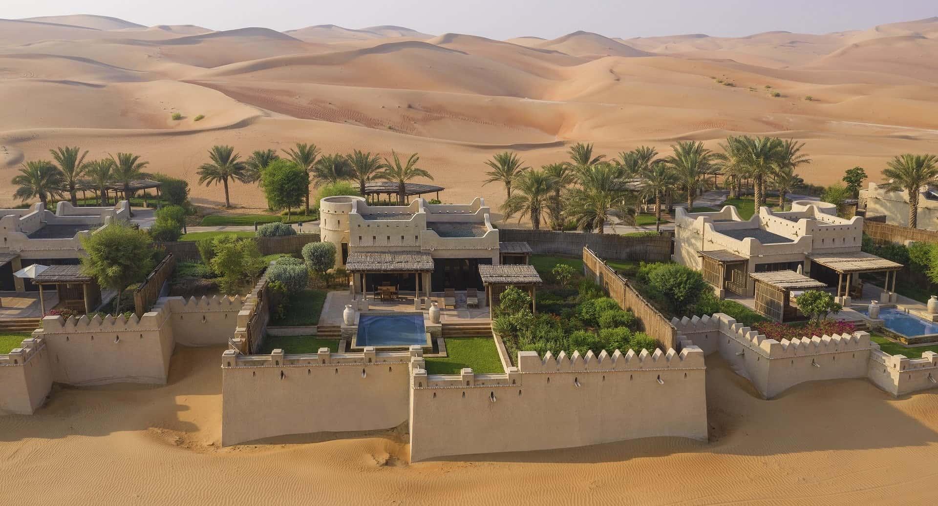 Qasr Al Sarab Desert Resort by Anantara One Bedroom Villa Exterior Абу-Даби, фото