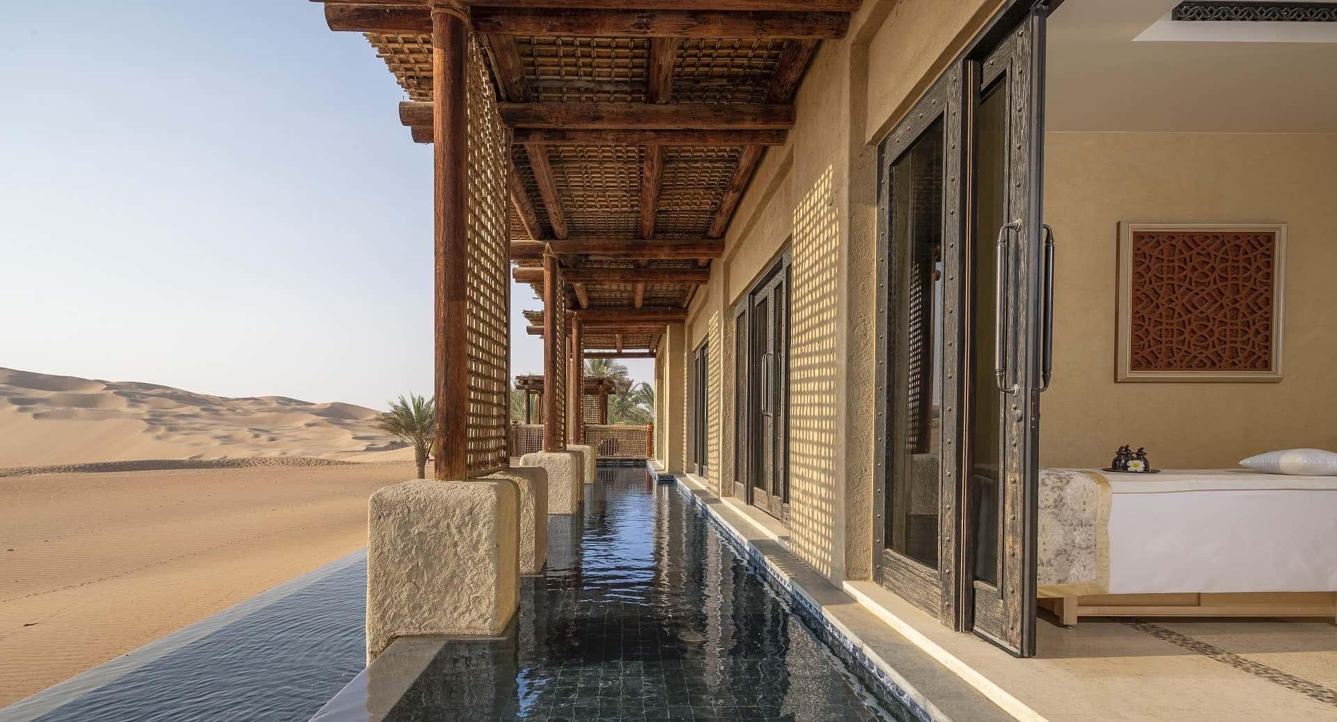Qasr Al Sarab Desert Resort by Anantara Spa Pool Абу-Даби, фото