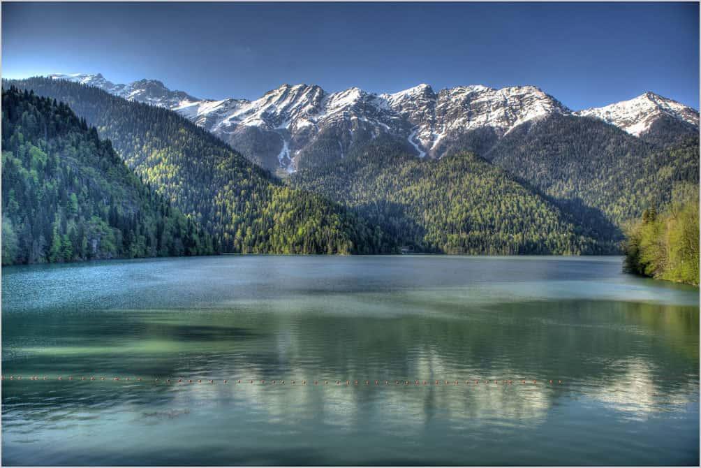 Ritsa Lake Abkhasia, фото