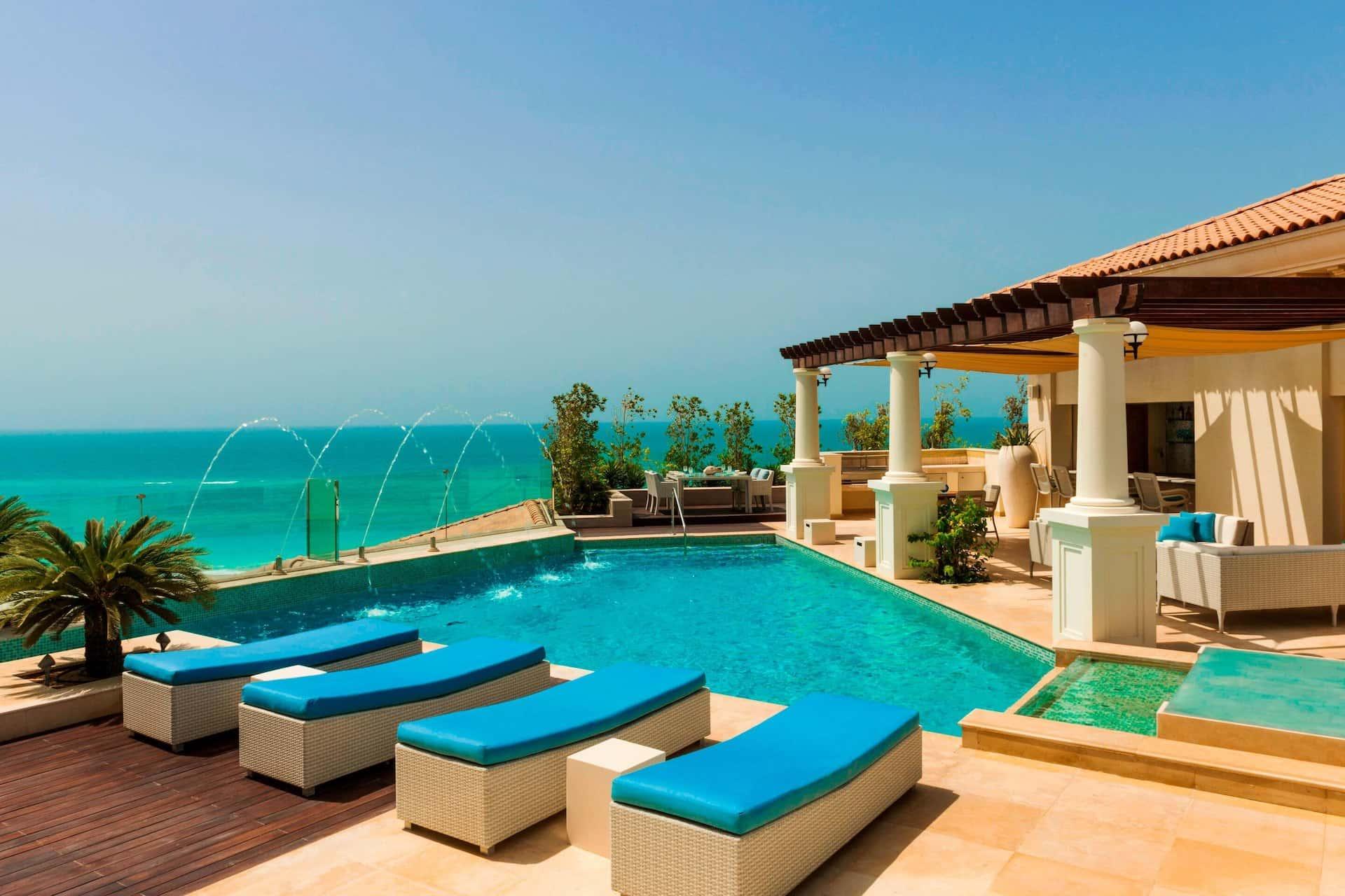 Royal Suite Terrace The St. Regis Saadiyat Island Resort Абу-Даби, фото
