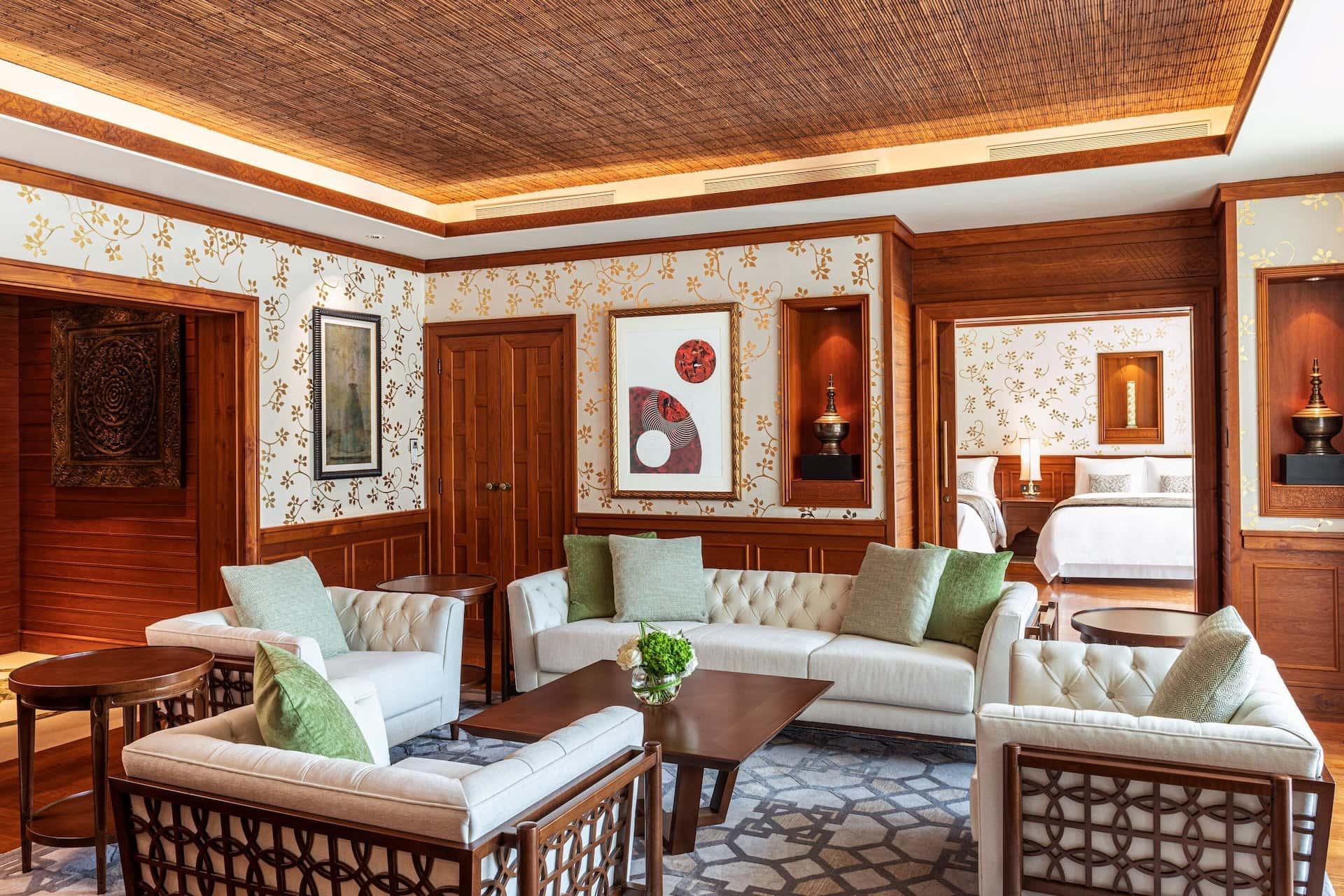 Suite Living Room The St. Regis Saadiyat Island Resort Абу-Даби, фото