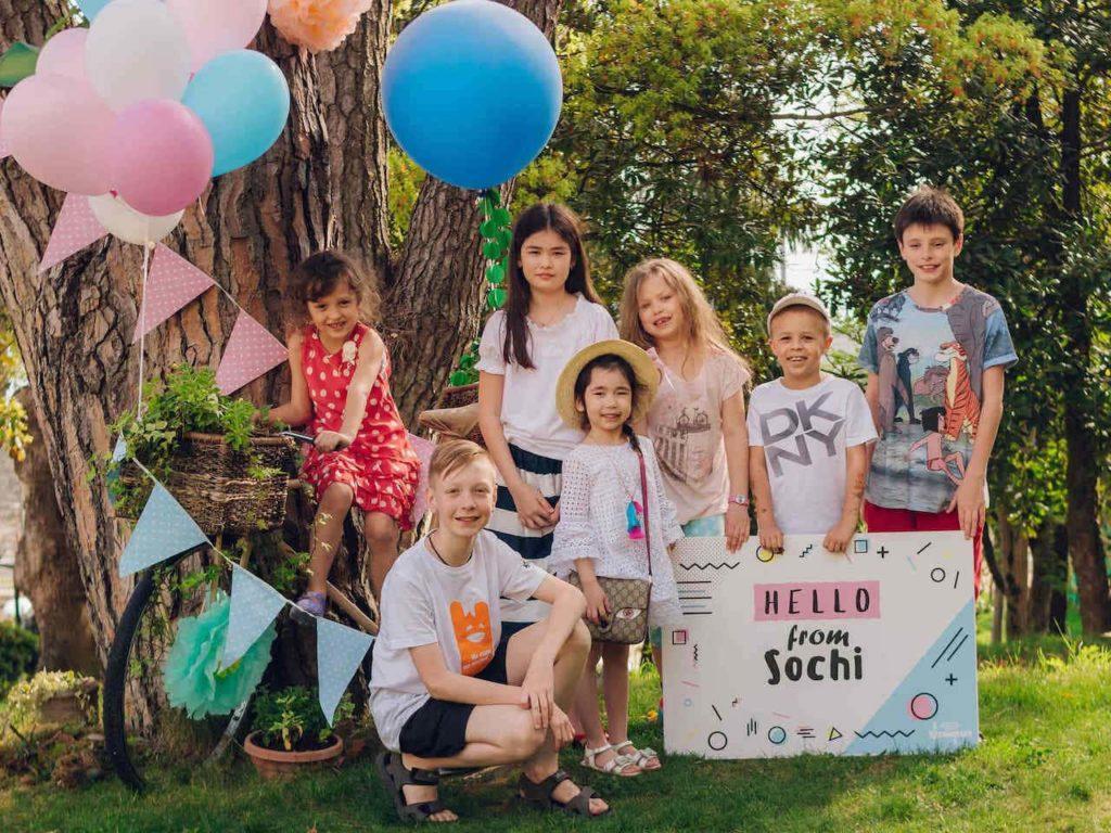 Лучшие отели Сочи для отдыха с детьми