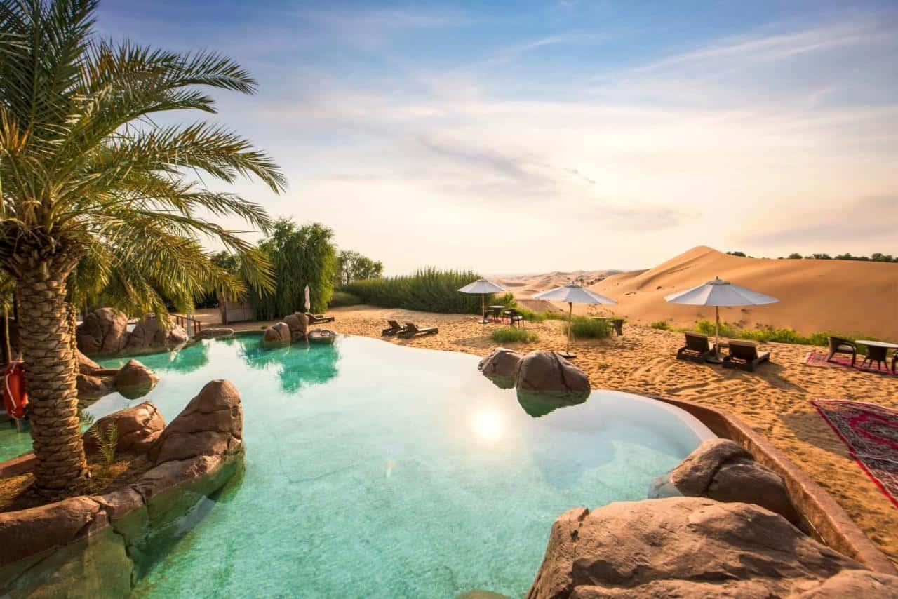 Telal Resort Al Ain Pool Абу-Даби