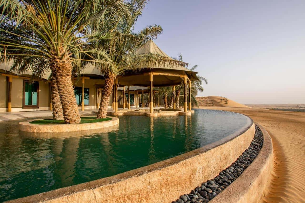 Telal Resort Al Ain Villa Pool Абу-Даби, фото