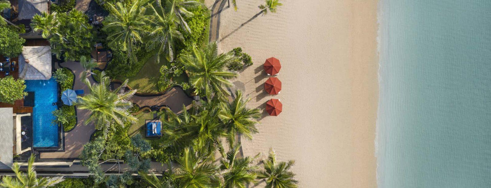 The St.Regis Bali Resort Strand Residence Bird Eye View, фото