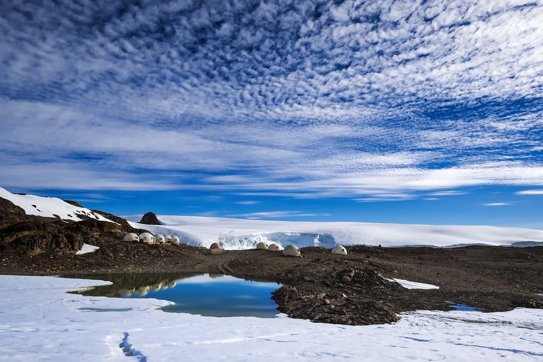 Whichway Camp White Desert Antarctica, фото