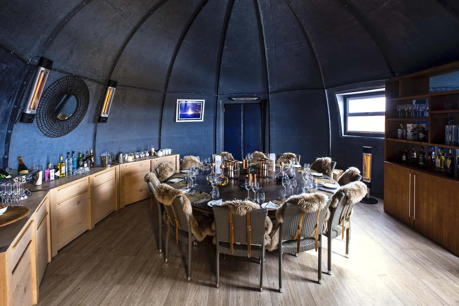 White Desert Whichway Camp Dining Room Antarctica, фото
