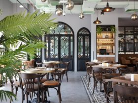 Restaurant Al Beiruti Dubai Interior, фото