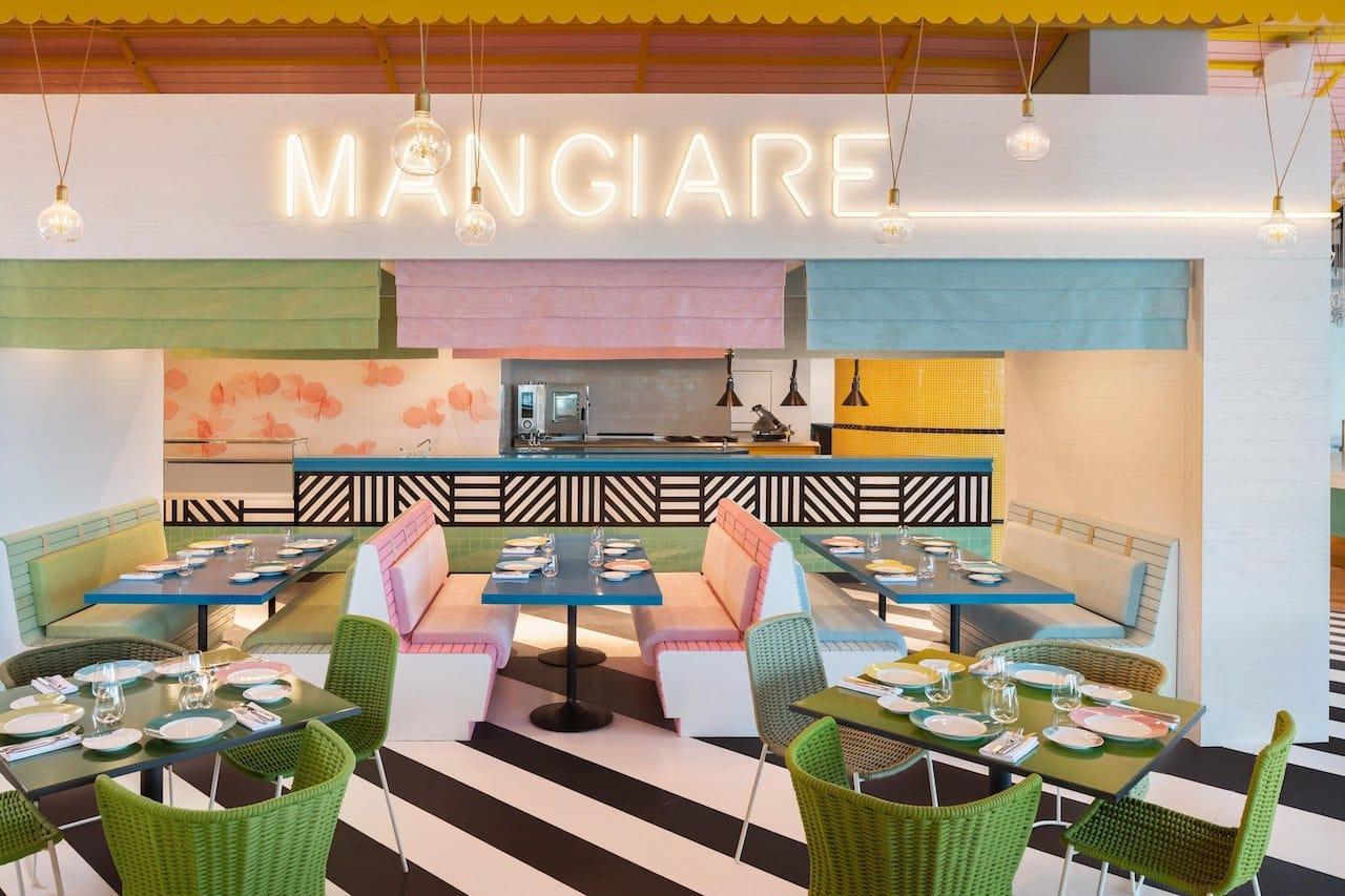 Restaurant Torno Subito W The Palm Dubai Interior, фото