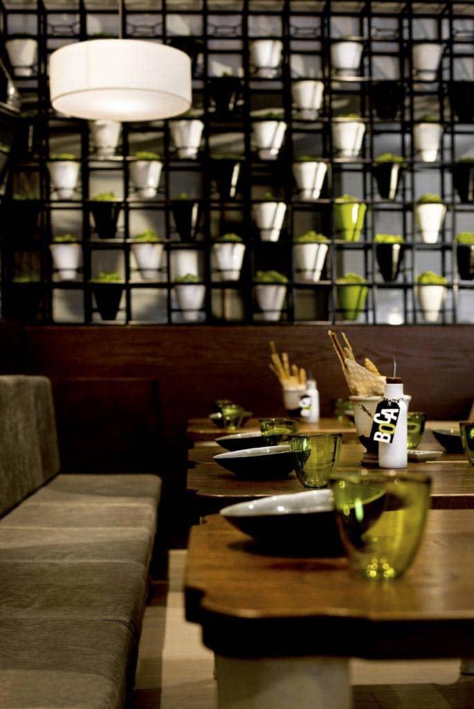 Restaurant Boca Dubai Interior, фото