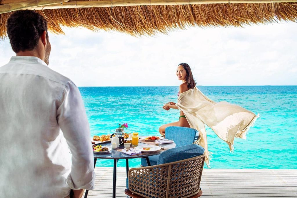 Emerald Maldives Resort & SPA Breakfast, фото