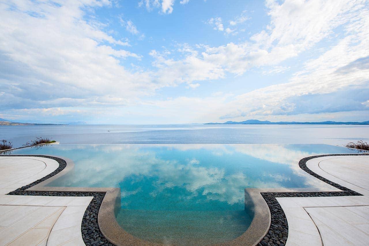Ultima Corfu Villa Poolside View Greece, фото