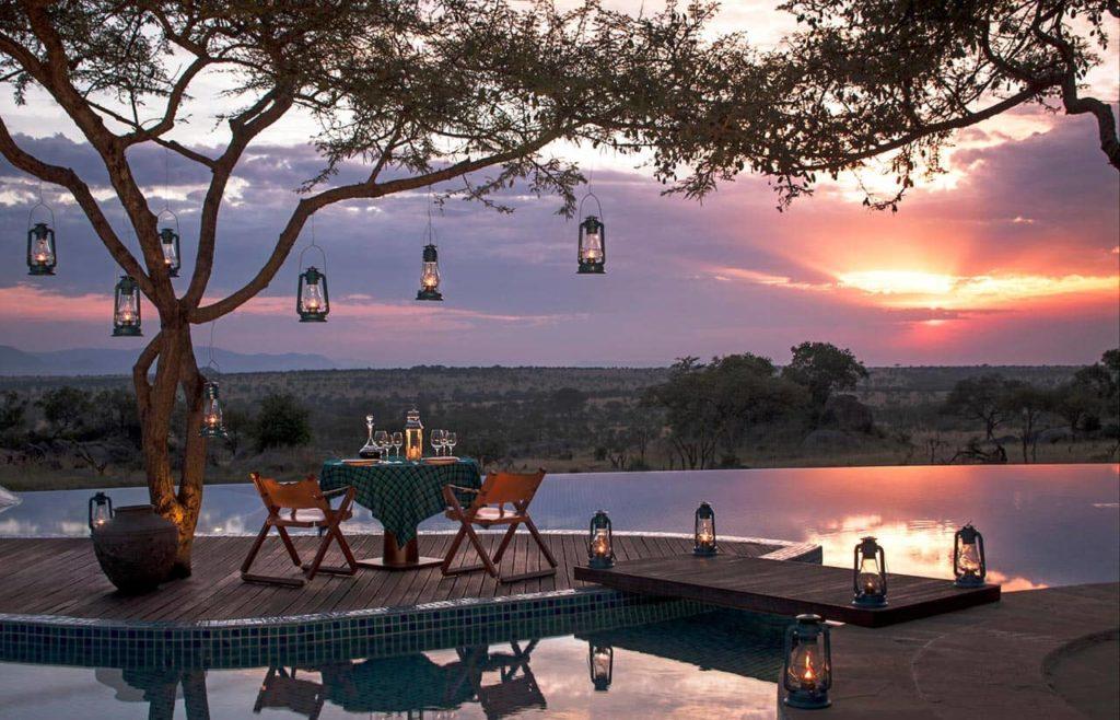 Four Seasons Safari Lodge Serengeti Outside Dining, фото