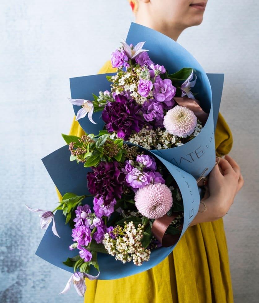 Группа цветы: где заказать букет на 8 Марта