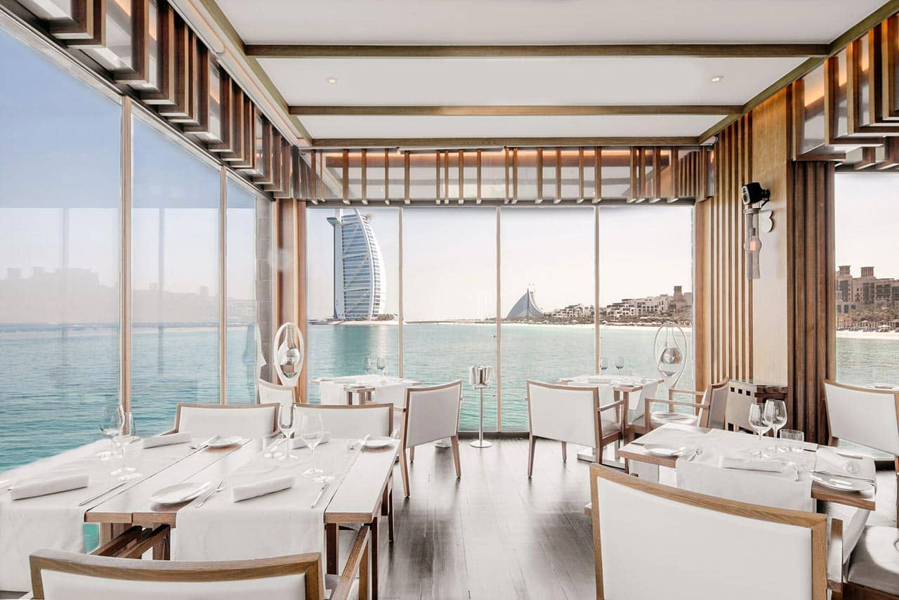 Restaurant Pierchic Dubai Interior, фото
