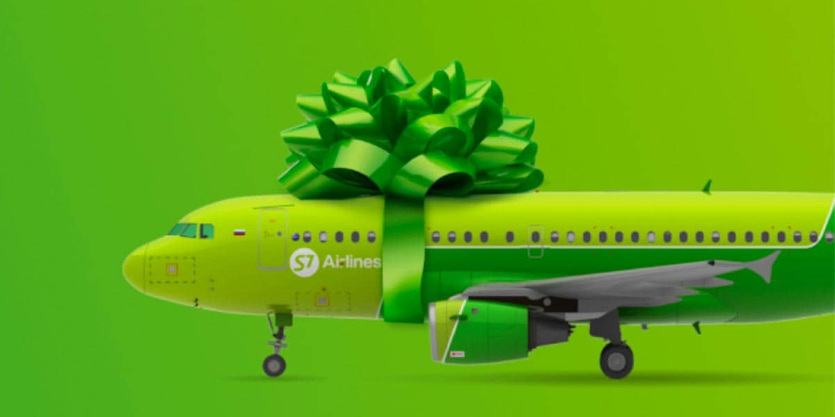 S7 Airlines Boeing, фото