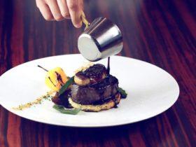 Restaurant World Cut Steakhouse Dubai Beef Rossini, фото
