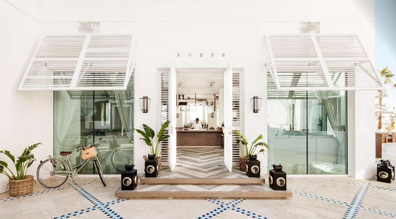 Reastaurant Noépe Dubai Exterior, фото