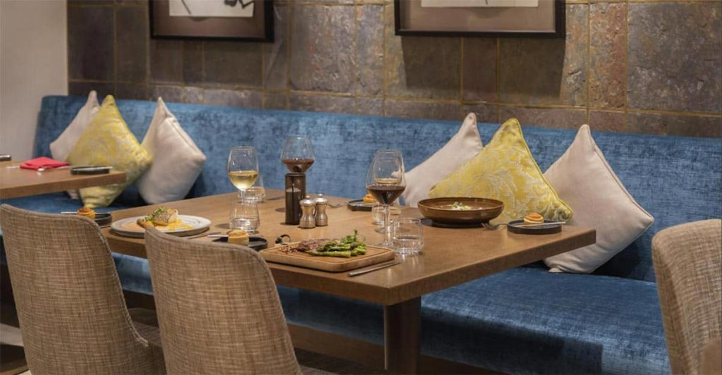 Restaurant Rare Dubai Interior, фото