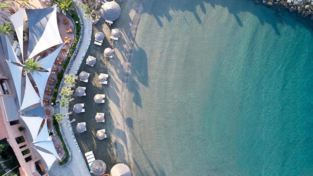 Hotel Amathus Beach Cyprus Beach Aerial View, фото