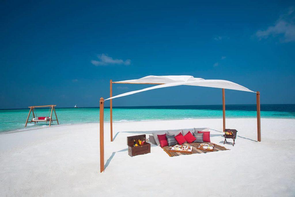 Resort Baros Maldives Sandbank Picnic, фото