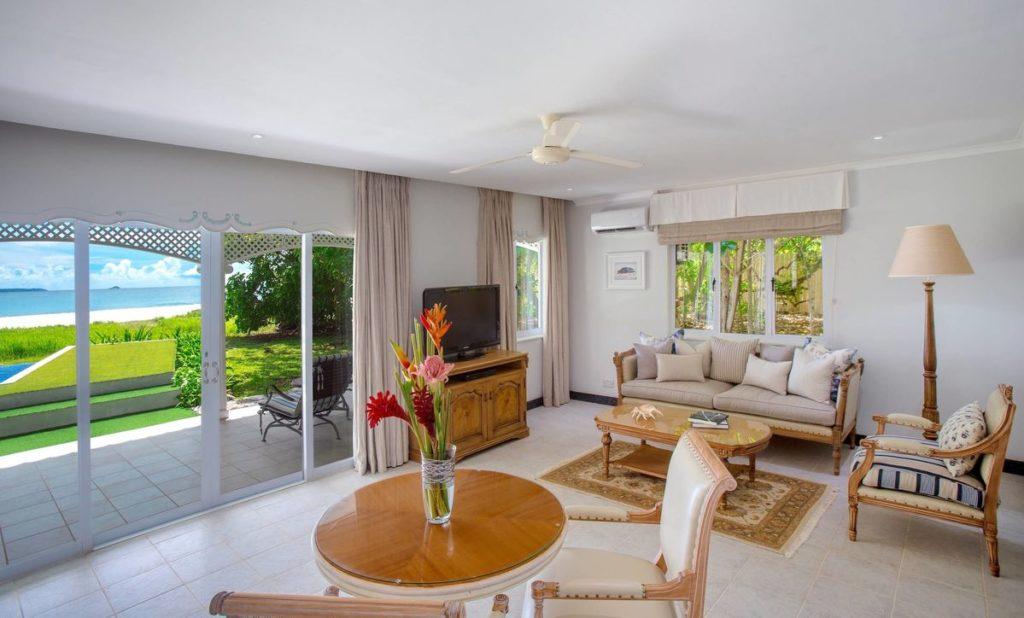 Cousine Island Resort Seychelles Villa Living Room Interior, фото