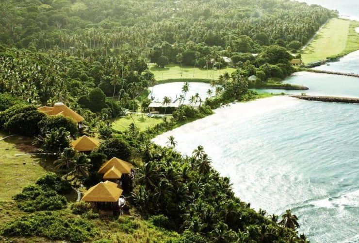 Fregate Island Seychelles Banyan Hill Estate Aerial View, фото