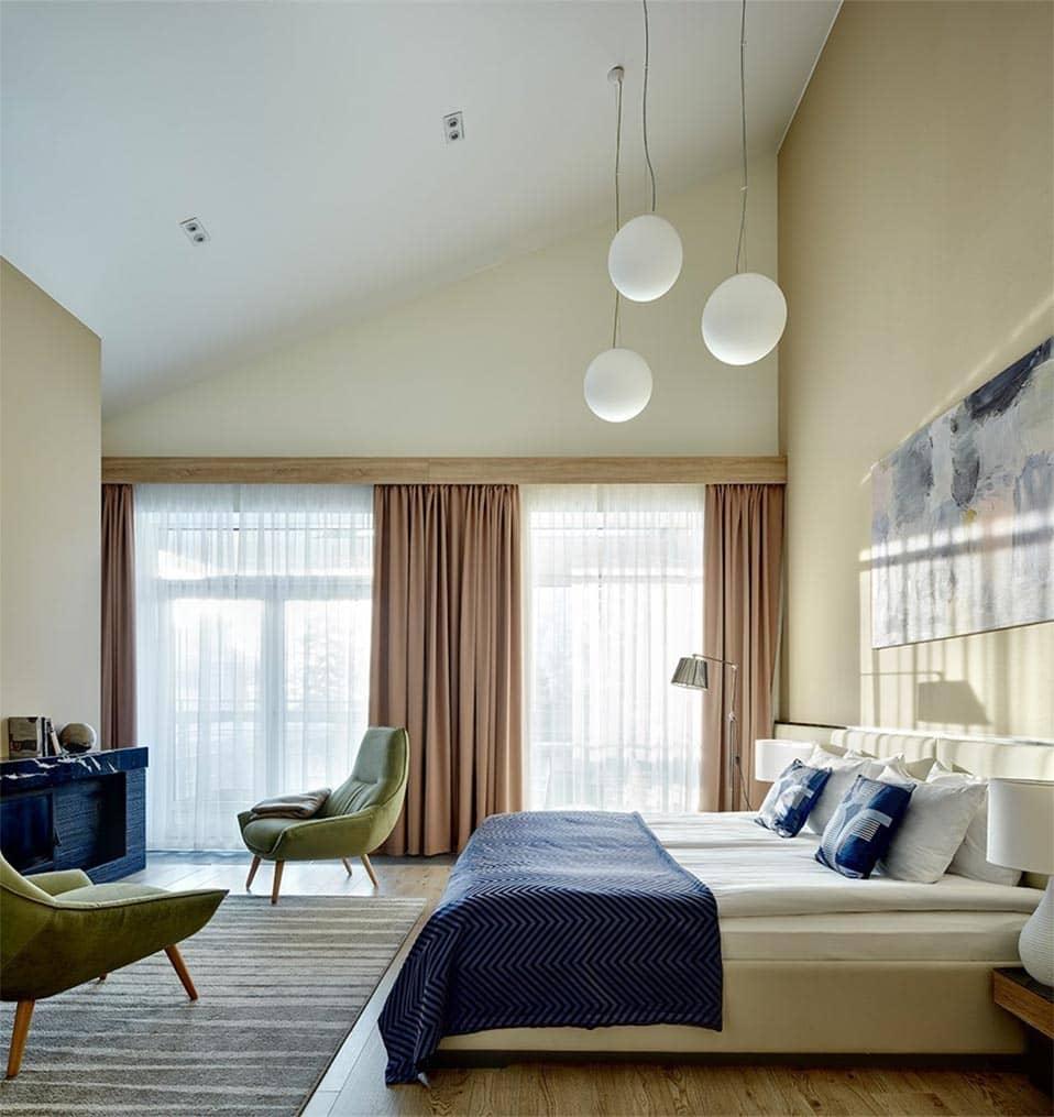 Pervaya Liniya. Health Care Resort Room Interior, фото