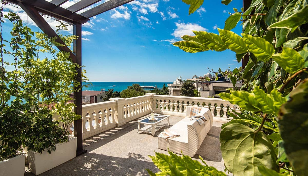 Villa Elena Hotel & Residences Crimea Royal Penthouse Terrace Interior and View View, фото