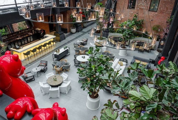 Hotel Kazan Palace by TASIGO Restaurant Kazanda Lounge Interior, фото