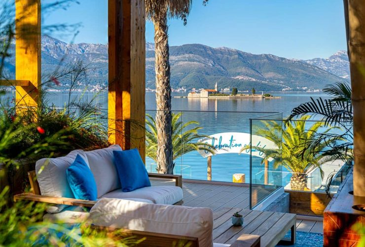 Nikki Beach Montenegro Tivat Terrace with View, фото