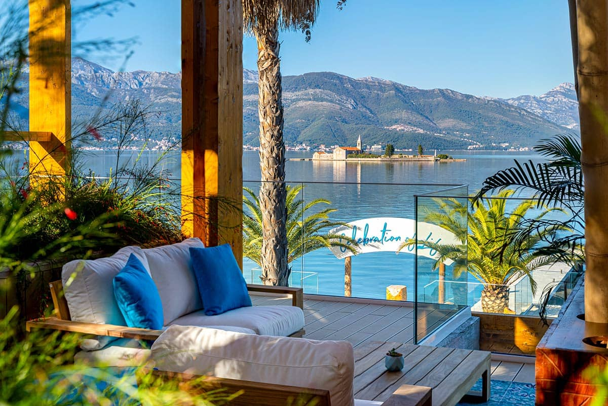 Nikki Beach Montenegro Tivat Terrace with View, фото