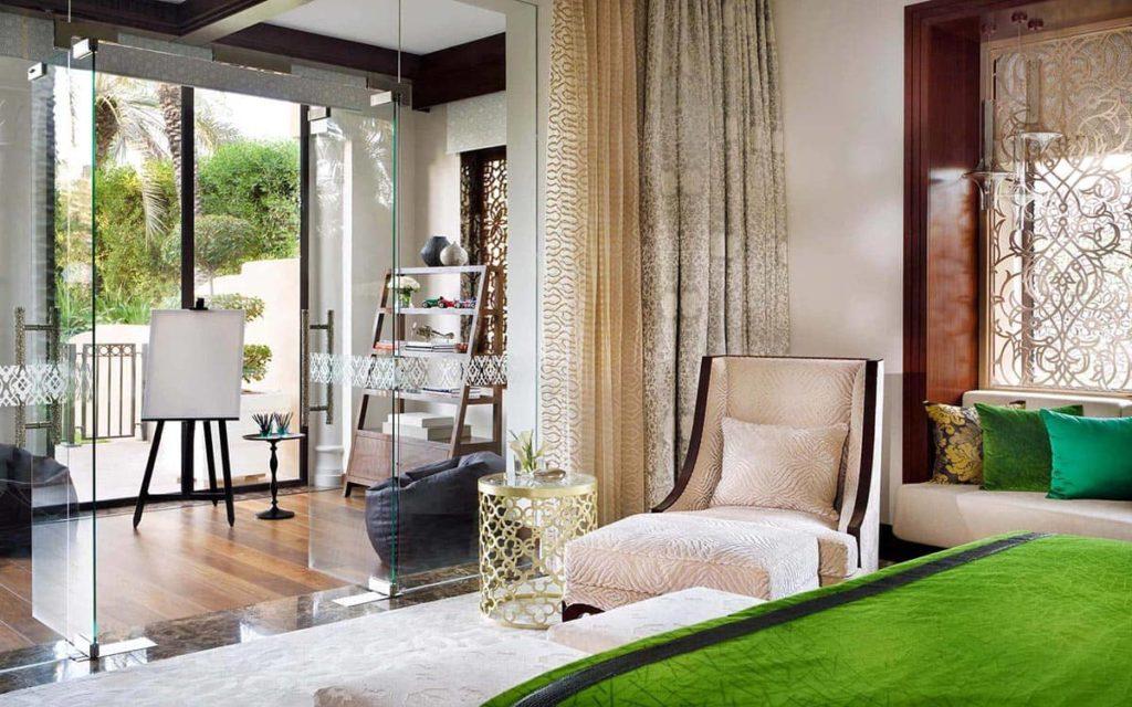 Resort One&Only Royal Mirage Dubai Beach Garden Villa Master Bedroom Interior, фото