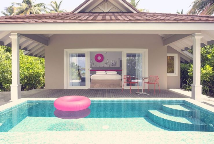 Hotel The Standard, Huruvalhi Maldives Villa with Pool, фото