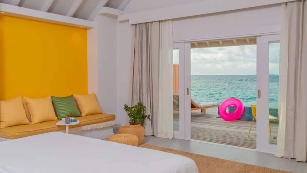 Hotel The Standard, Huruvalhi Maldives Room Interior, фото