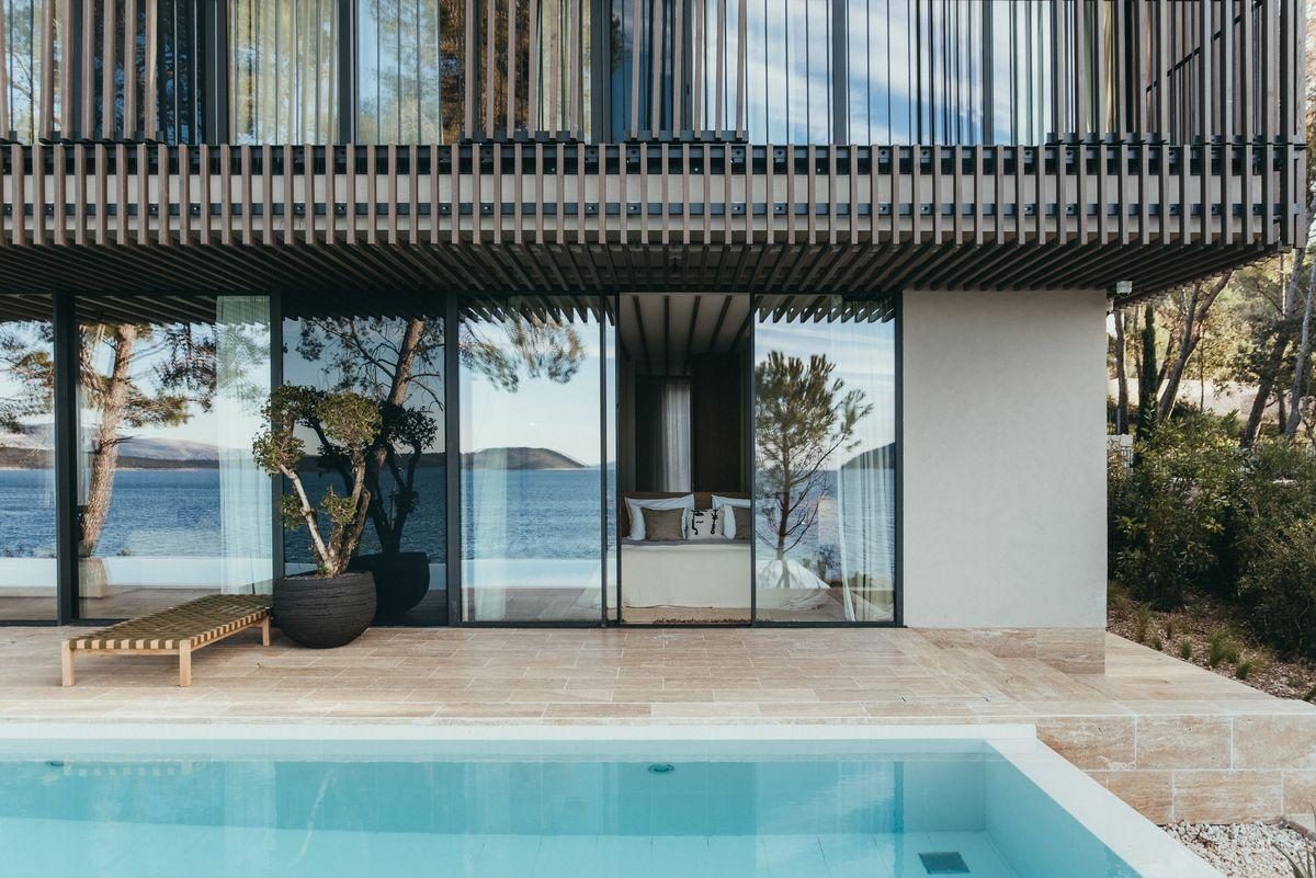 Hotel Maslina Resort Croatia Villa Uvala Outside Pool, фото