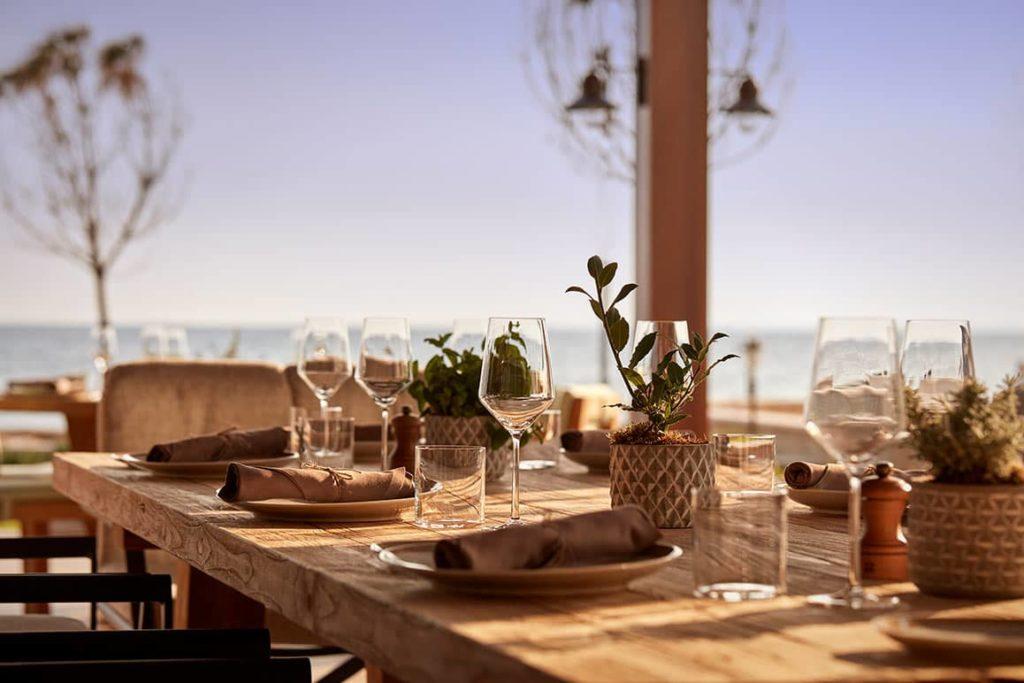 Hotel Parklane Resort & Spa Cyprus Restaurant Dafne Interior Details, фото