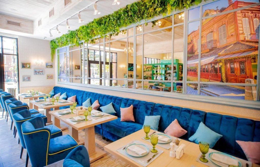 Restaurant Sharden Tula Interior, фото
